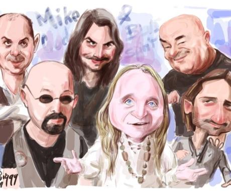 Caricatura de grup