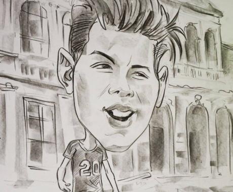 Un cadou de neinlocuit – caricatura in creion!