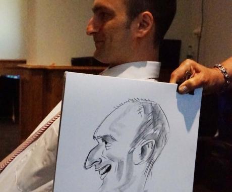 Nunta si caricaturi in Poiana Brasov!
