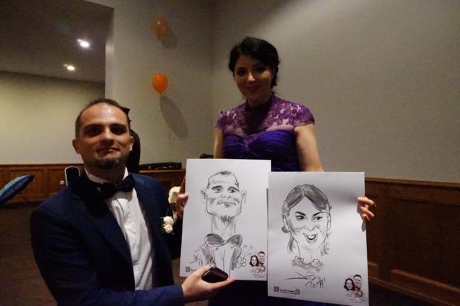 Nunti si caricaturi cu Adrian Bighei
