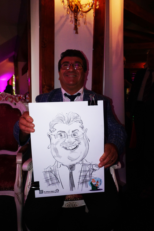 Caricaturist la nunta - Adrian Bighei, Poiana Brasov