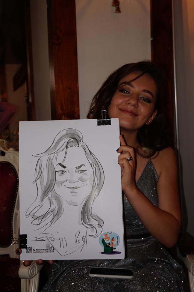 Caricaturist la nunta - Adrian Bighei