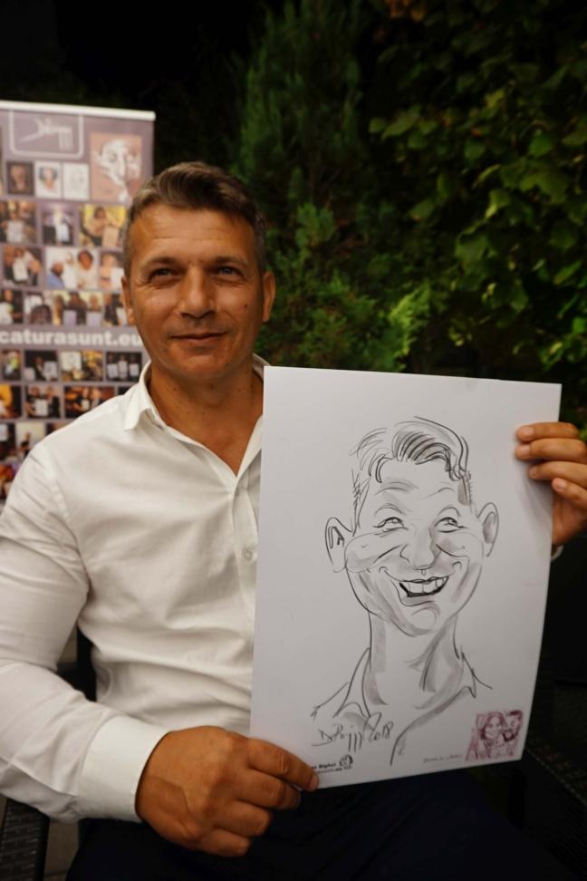 Portrete si caricaturi- marturii la nunta