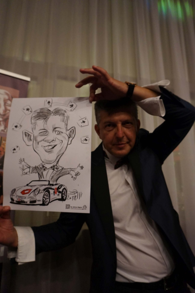 Caricaturist evenimente , Forch
