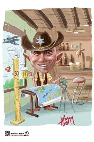 Caricatura digitala personalizata By Bighei Adrian