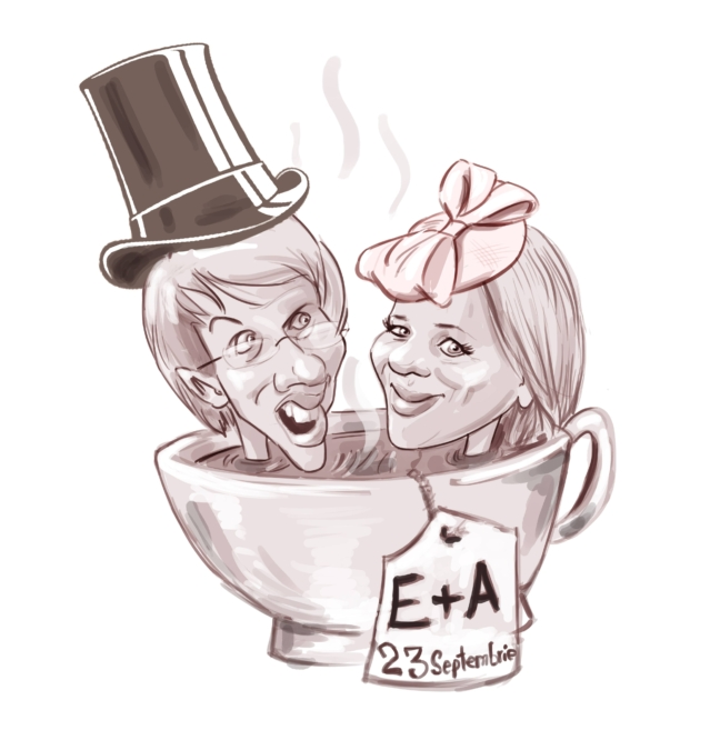 Caricatura cu tema de Adrian Bighei