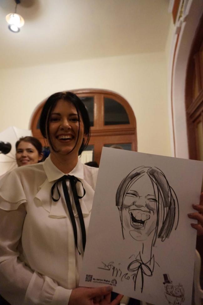 Adrian Bighei - caricaturist nunti