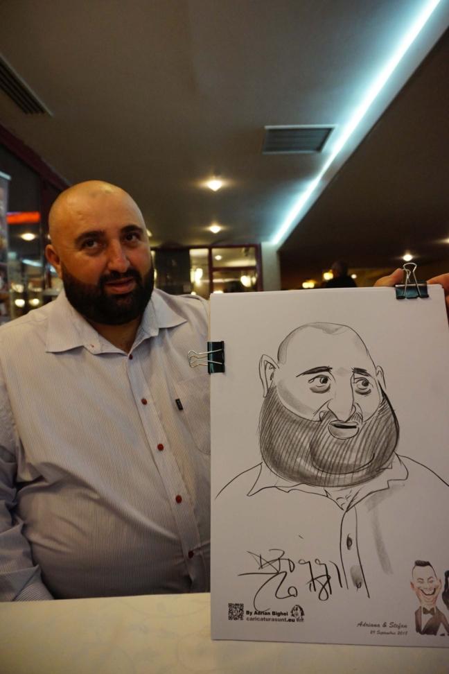 Adrian Bighei - caricaturi evenimente