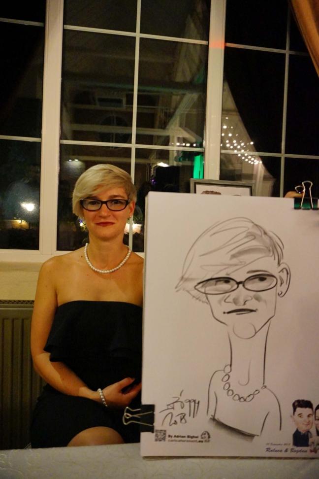 Caricaturist nunti - adrian Bighei