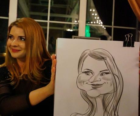 Caricaturist la nunti