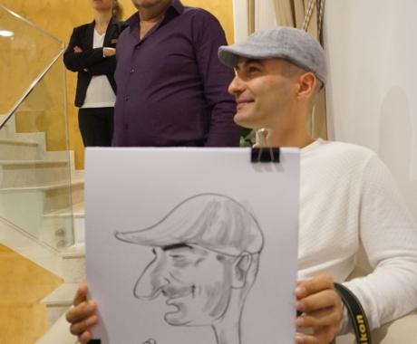Caricaturi in creion – marturii la nunta