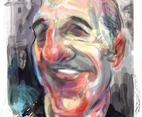 Caricatura Gheorghe Dinica