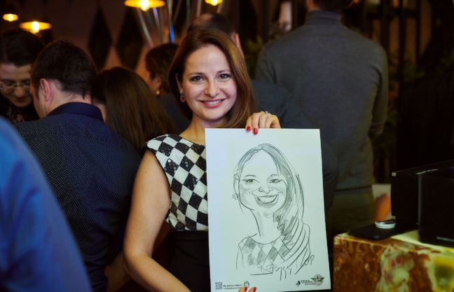 Caricaturi eveniment corporate