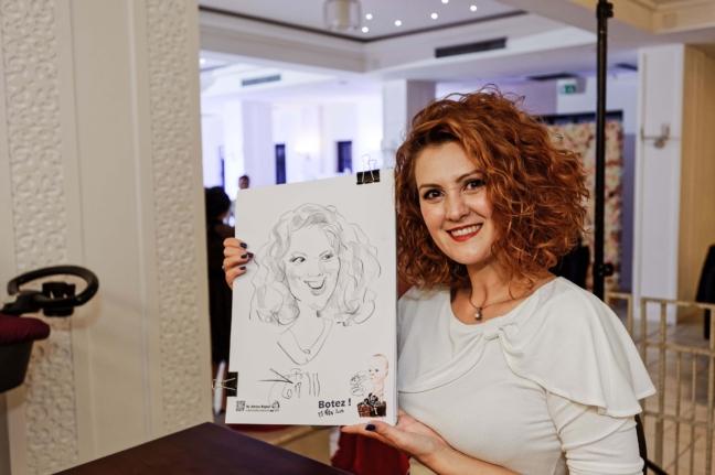 Portrete și caricaturi în creion, la comandă