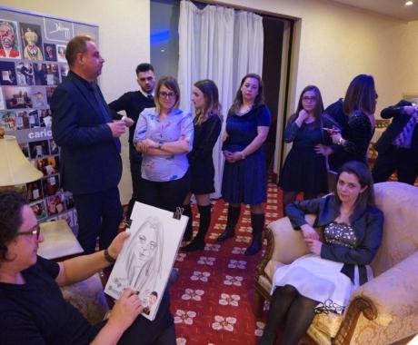 Caricaturi botez – Hotel Ramada, Brasov
