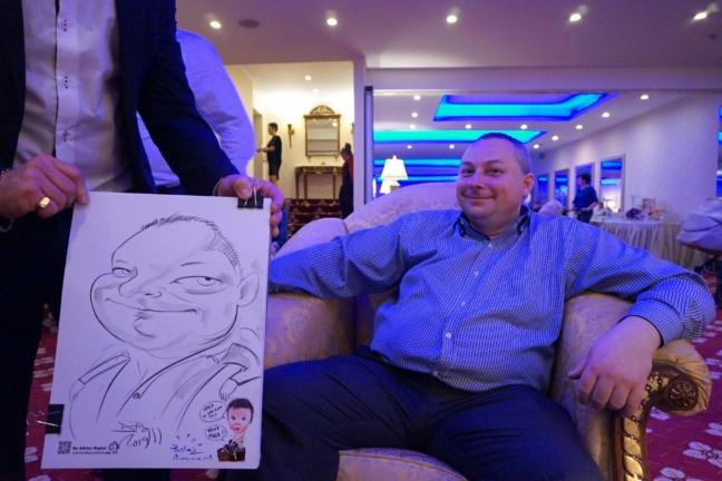 Caricaturi botez - Hotel Ramada, Brasov