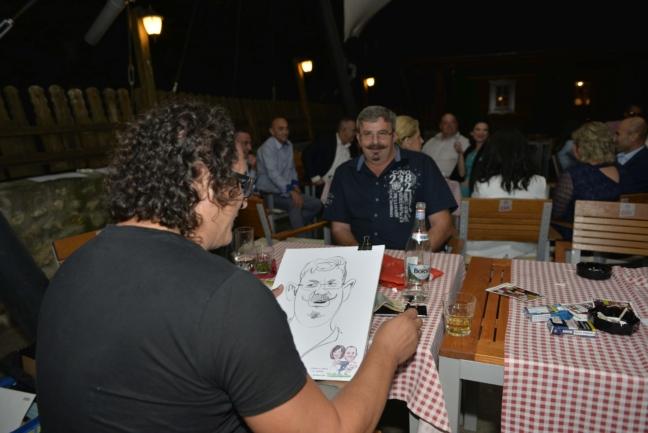 Biggy, caricaturist la nunta