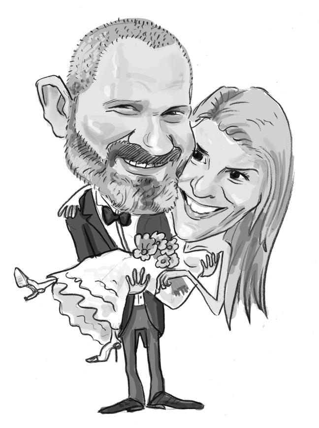 Caricatura - portret pentru cupluri
