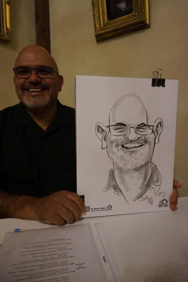 Caricaturi - 100% desene în creion