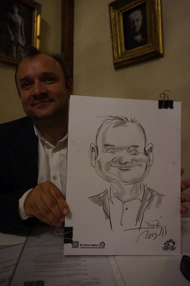 Caricaturi in creion by adrian Bighei