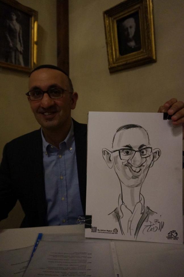 Caricaturi - portret in creion