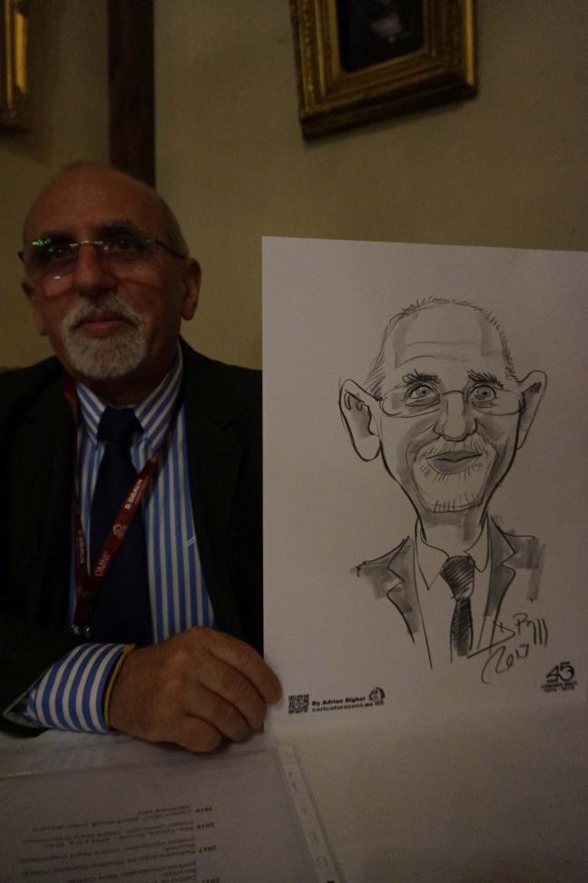 Caricaturi live in creion by Adrian Bighei