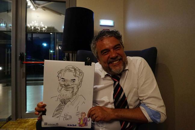 Caricaturist la evenimente : nunti, botezuri, evenimente corporare, petreceri private