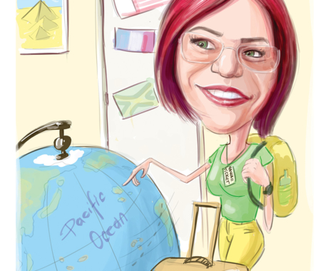 Caricatura – cadou personalizat
