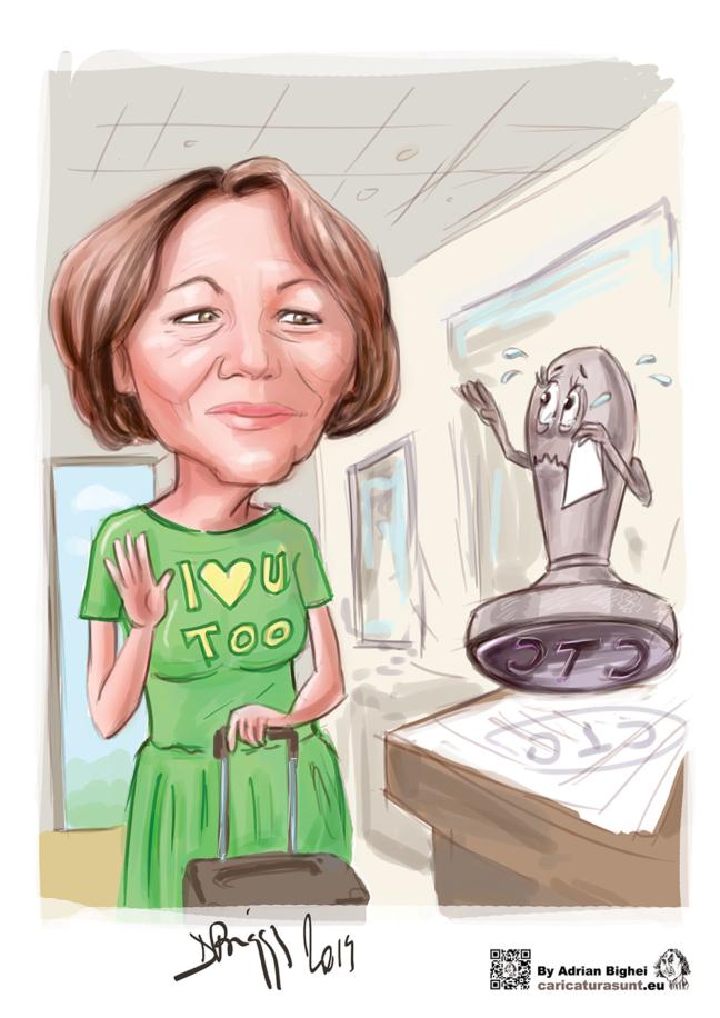 Caricatura personalizata cu tema by Caricaturasunt.eu