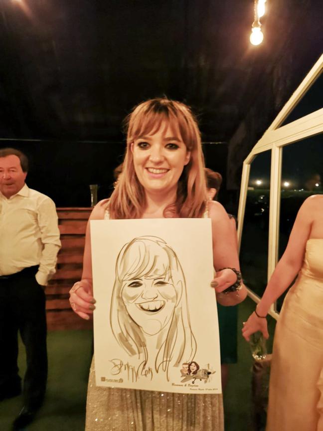 Caricaturi live - marturii nunta by Adrian Bighei