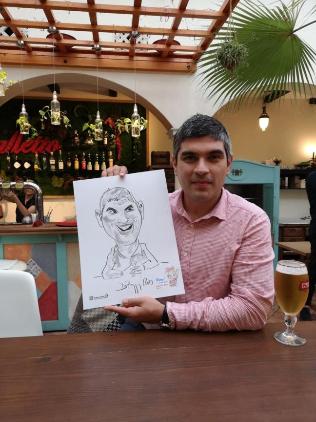 Caricatura la evenimente by Adrian Bighei