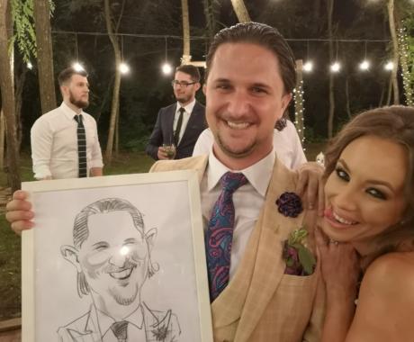 Caricaturi evenimente : nunti, botezuri, evenimente corporate, petreceri private