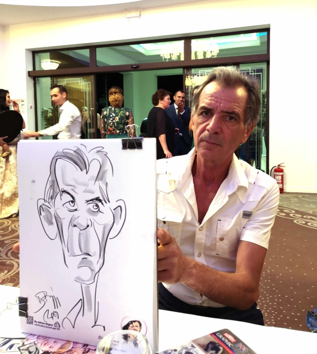 Caricaturile - marturii la moda! by Adrian Bighei