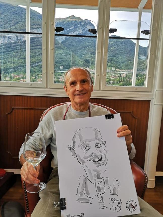 Caricaturi evenimente corporate , Italia by Adrian Bighei
