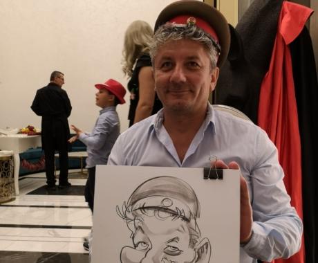 Caricaturi live pentru cei mai simpatici oameni – Timisoara!