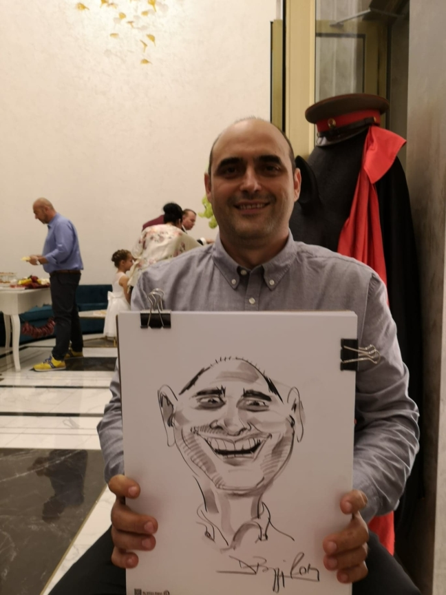 Caricaturi la minut, eveniment Timisoara by Adrian Bighei