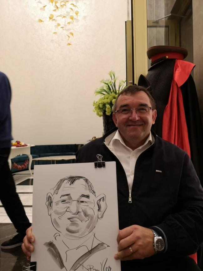 Caricaturi la minut, eveniment Timisoara