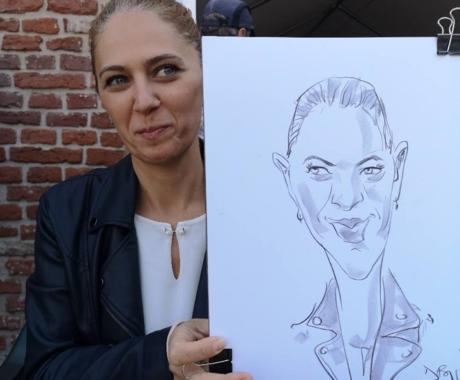 Caricaturi in creion la Popa's Academy