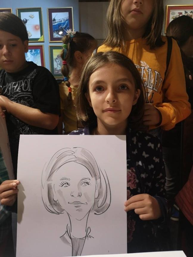 Caricaturi la Popa's Academy, Timisoara