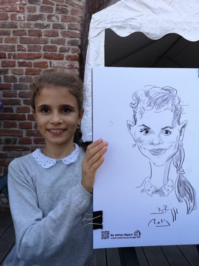 Caricaturi la Popa's Academy by Adrian Bighei