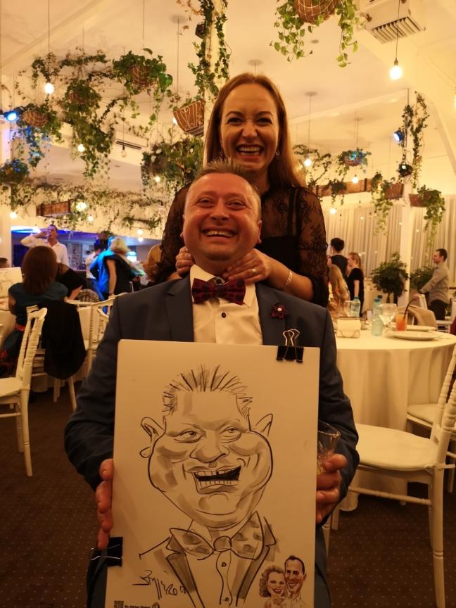 Caricaturi la nunti, petreceri private, conferinte, evenimente corporate