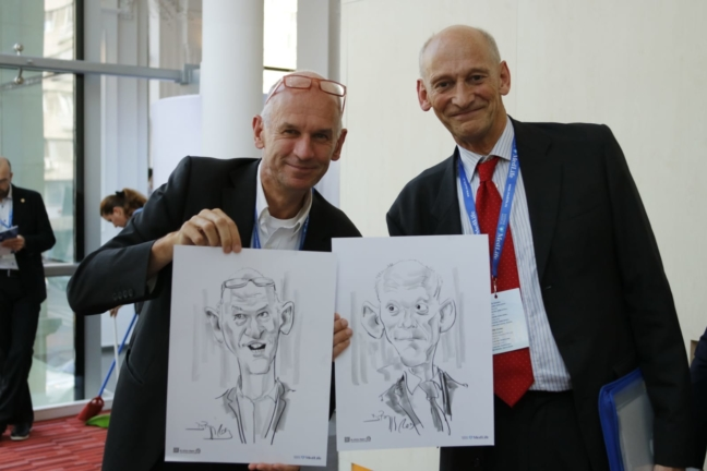 Caricaturi eveniment corporate Medlife by Adrian Bighei