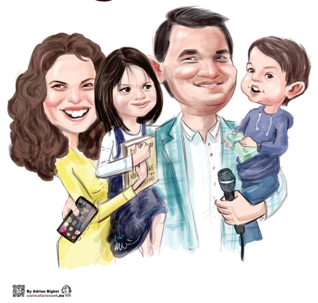 Caricatura - cadoul ideal by Adrian Bighei