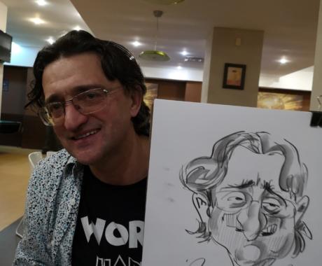 Caricaturi eveniment Mapei – Covasna