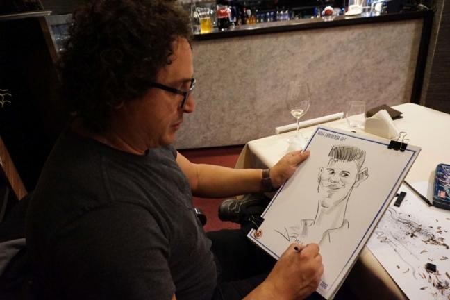 Caricaturist la evenimente corporate