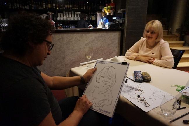 Caricaturi live la evenimente corporate