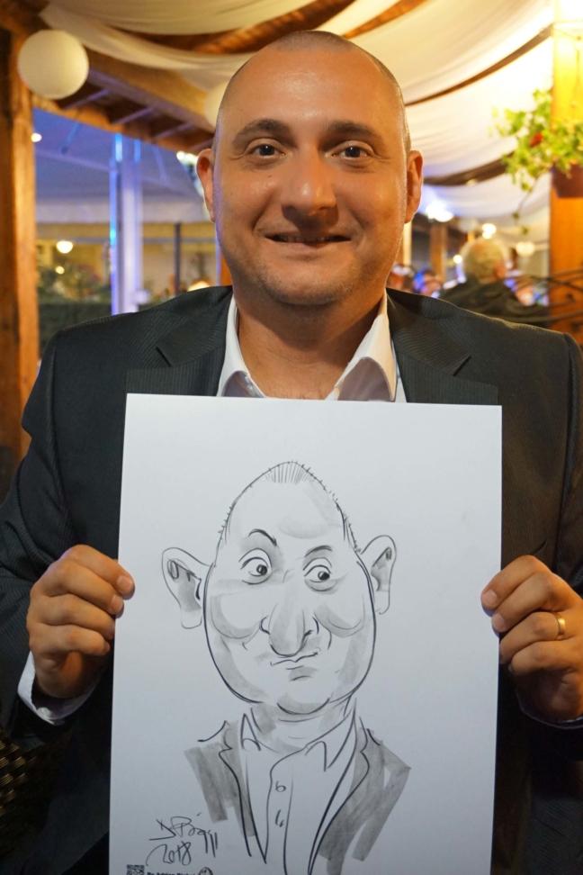 Caricaturist in actiune!