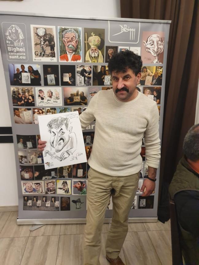 Caricaturi - petrecere privata