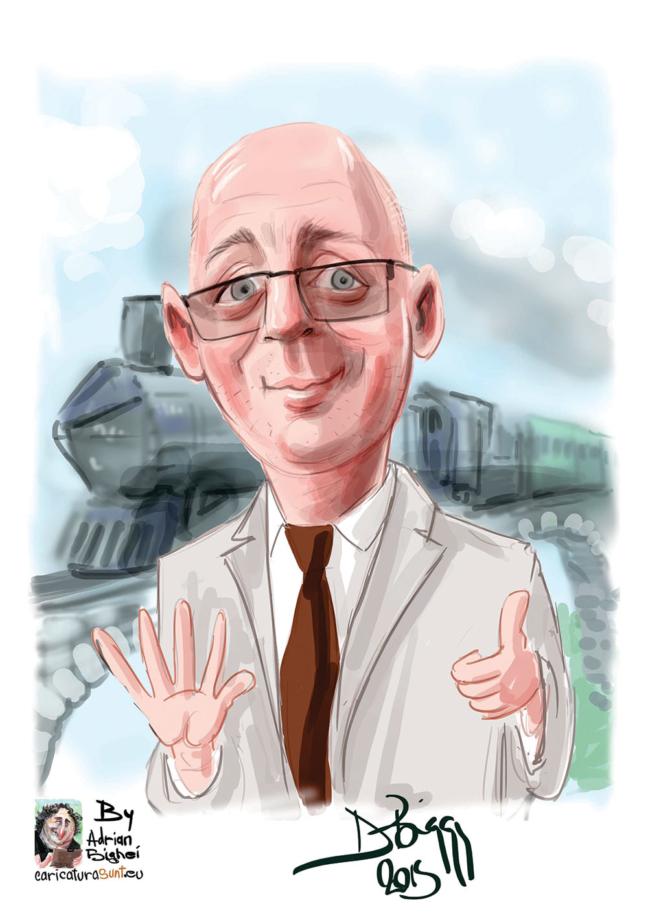 Caricatura comanda on-line dupa fotografie