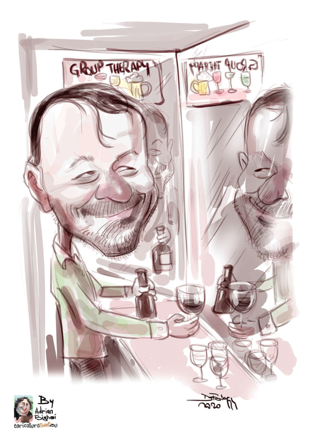 Caricatura digitala cu tematica